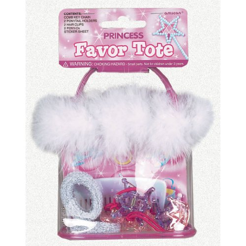 Princess Favor Tote with 8 Favors - 1