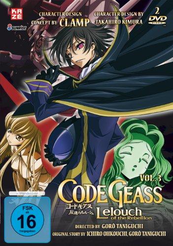 Code Geass: Lelouch of the Rebellion - Staffel 1 - Box Vol. 3 (2 DVDs) [Alemania]