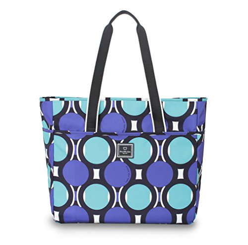 french-west-indies-collection-18-weekender-tote-teal-retro-dot