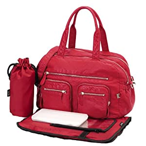 sac a langer rouge sac langer rouge sur enperdresonlapin. Black Bedroom Furniture Sets. Home Design Ideas