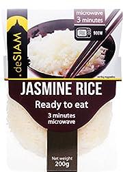deSiam Cooked Jasmine Rice, 200g