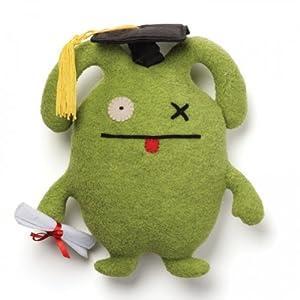 """Gund Uglydoll Little OX Graduation 7.3"""" Plush"""