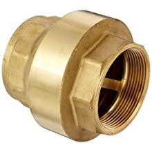"Dixon CV300 Brass Spring-Loaded Check Valve, 3"" NPT Female"