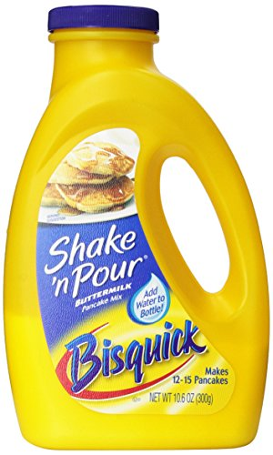 Bisquick Shake 'n Pour Buttermilk Pancake Mix, 10.6-Ounce Containers (Pack of 8)
