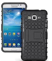 Delkart Hard Armor Design Kick Stand Cover For Samsung Galaxy Grand 2