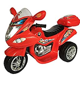 HLX NMC BATTERY OPERATED FUN BIKE RED