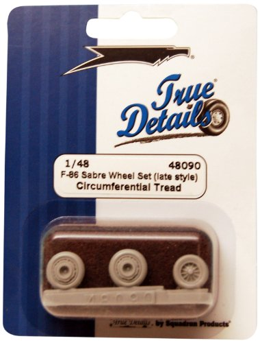 True Details F-86 Sabre Wheel Set (Late Style)