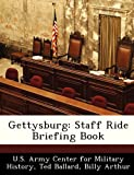 img - for Gettysburg: Staff Ride Briefing Book book / textbook / text book