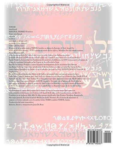 Biblia Interlineal Español Hebreo: Para Leer en Hebreo: Volume 4 (Bamidbar -Deut)