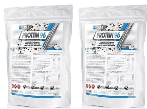 Frey Nutrition Protein 96 2 x 500g Beutel 2er Pack Neutral