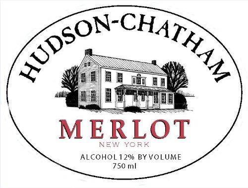 2012 Hudson-Chatham Winery Merlot 750 Ml