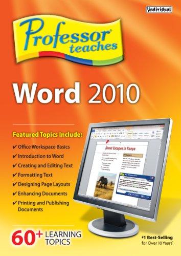 Professor Teaches Word 2010 [Download]