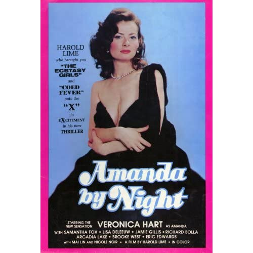 Amazon.com: Amanda By Night Movie Poster (11 x 17 Inches - 28cm x 44cm