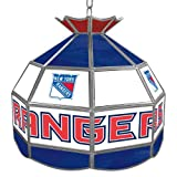 NHL New York Rangers Stained Glass Tiffany Lamp - 16 inch di - Game Room Products Tiffany Lamps NHL - Hockey at Amazon.com