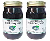 Amish Blackberry Jam - Two 18 Oz Jars