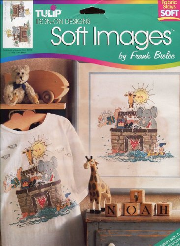 Tulip Soft Images Iron-On Transfer ~ Noah's Ark by Frank Bielec