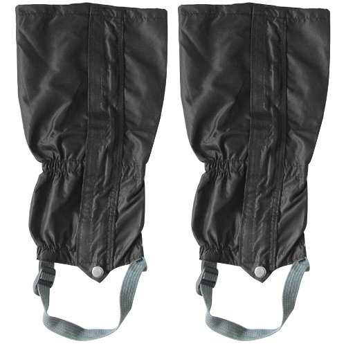 Black Highlander Breathable Mens Gaiter - Waterproof For Walking Gators Boot Hiking Climbing Leggings Trekking Gaiters