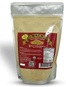 Pure Natural Miracles Maca Root Powder, Best for Hormonal Imbalance, 1lb Organic Raw Maca Powder