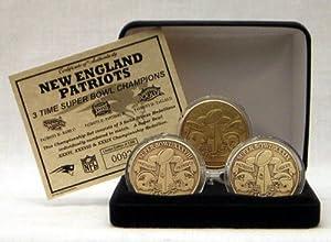 New England Patriots Bronze Super Bowl Coin Set