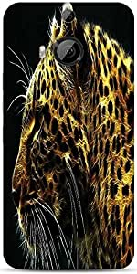 Snoogg N Tiger Designer Protective Back Case Cover For HTC M9 Plus