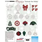 Artista Embroidery Machine Card EMBROIDER YOUR HOLIDAY