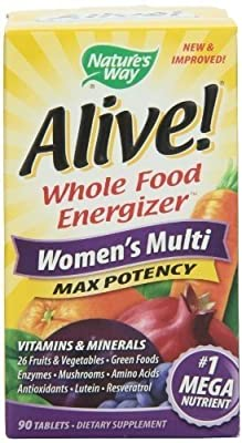 Alive! Women's Multi-Vitamin 26 Fruits & Vegetables (90 tablets)