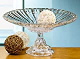 Crystal Clear Alexandria Pedestal Compote Dish