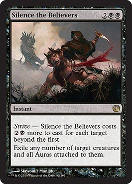 Magic: the Gathering - Silence the Believers (/165) - Journey into Nyx - Foil - 1