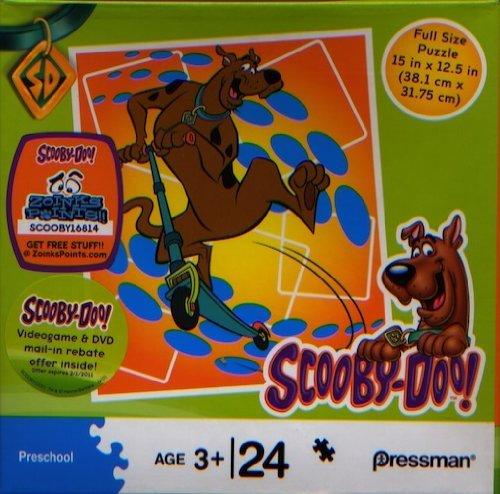 Cheap Pressman Toys Scooby-Doo 24 Piece Puzzle – Scooby on a Scooter (B004EHT8J4)