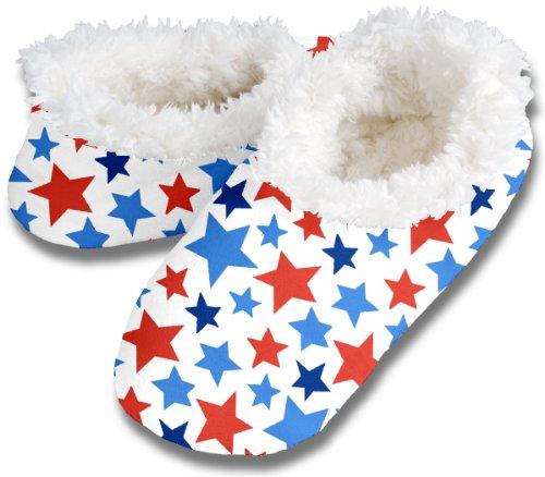 Cheap Snoozies FUN STARS No Skid Slipper Sock Footwear (100-321W)