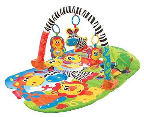 Playgro 3 in 1 Super Safari Gym for Baby - 1