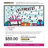 Amazon Gift Card - E-mail - Celebrate