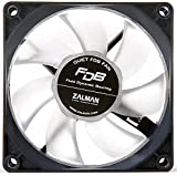 NEW! Zalman ZM-F1-FDB 3 Pin PC Case Fan 80mm