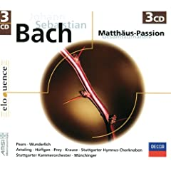 J.S. Bach: Matth�us-Passion BWV 244 (Eloquence)