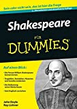 img - for Shakespeare Fur Dummies (F??r Dummies) by John Doyle (2015-11-11) book / textbook / text book