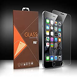 iPhone 6S Plus Tempered Glass, Levin Tempered Glass Screen Protector for Apple iPhone 6 Plus HD 9H Hardness, 2.5D Arc Angle Premium 0.26mm Ultrathin Touchscreen Accuracy