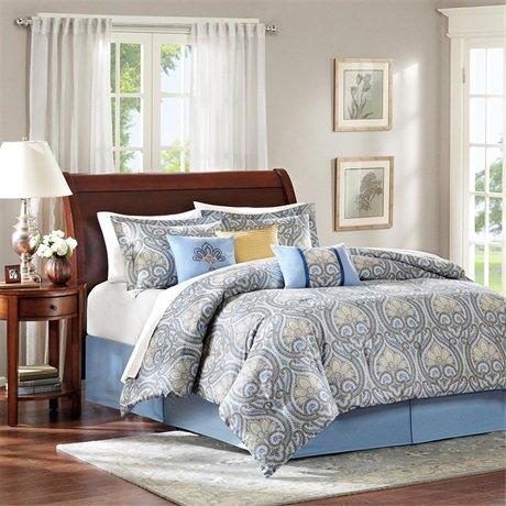 Antica 7 Piece Comforter Set Size: California King front-1088602