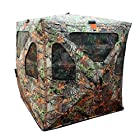 Leader Accessories Deer Hunting Game True Timber Camo Ground Hub Blinds