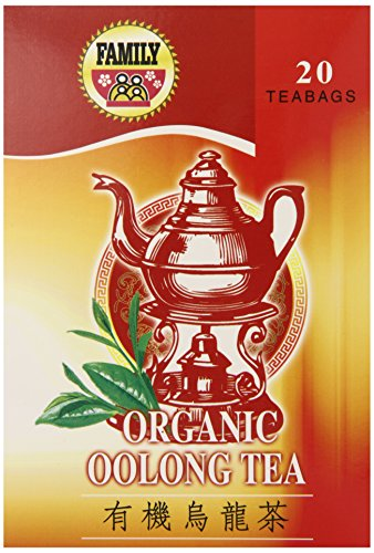 Family Organic Oolong Tea Bag, 20 Count (Pack Of 12)