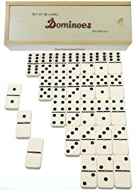 Dominoes Jumbo Tournament Off-White c…