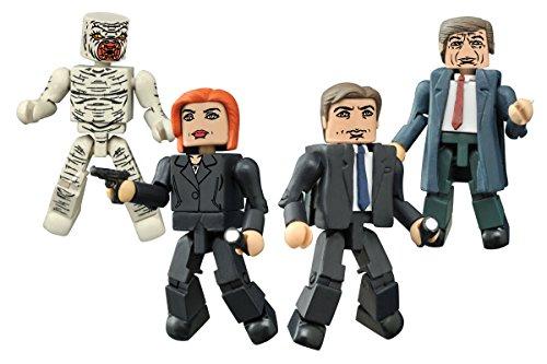 Diamond Select Toys The X-Files: Classic TV Series Minimates Box Set