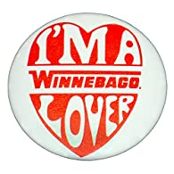 Vintage 1976 I'm a Winnebago Lover Button