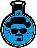 Official Breaking Bad Sticker - Heisenberg Chemistry Flask