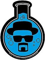 Official Breaking Bad Sticker - Heisenberg Chemistry Flask