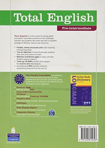 Total english. Pre-intermediate. Student's book. Con DVD. Per le Scuole superiori