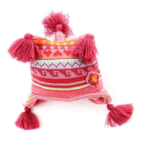 Babies/Toddler 3 Point Hat with tassles.One size.Winter warm hat.Very Cute
