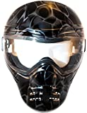 Save Phace Diss Series Intimidator  Tactical Mask with Smoke Graphic, Black