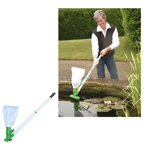 Good Ideas Pondvac Pond Cleaner 487 Removes Dirt And Debris Cleans Your Fish Pond For