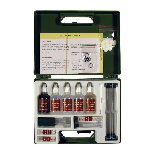 Big Save! Environmental Concepts 1663 Professional Soil Test Kit with 80 Tests