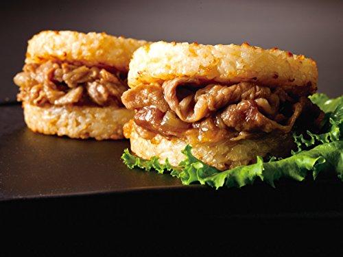 松屋 牛めしバーガー(10食入り)